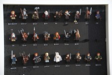 hobbit lego display