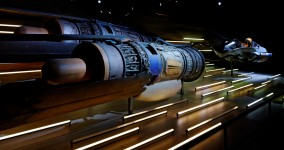 Podracer d'Anakin exposition star wars