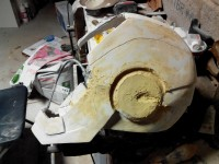 fabrication casque iron man